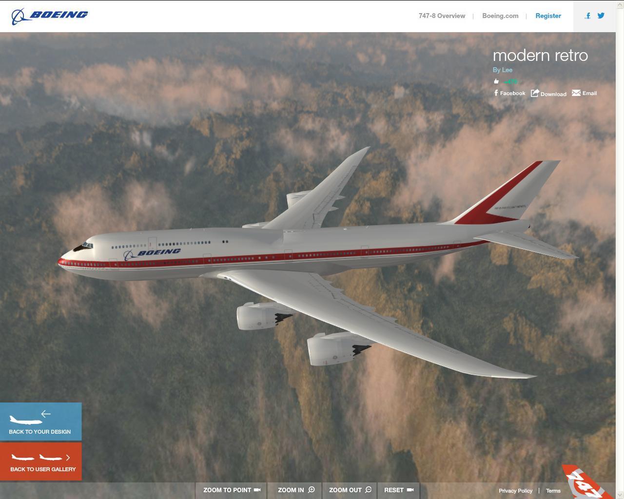 Design Your Own Boeing 747 8 Livery Online Diecast