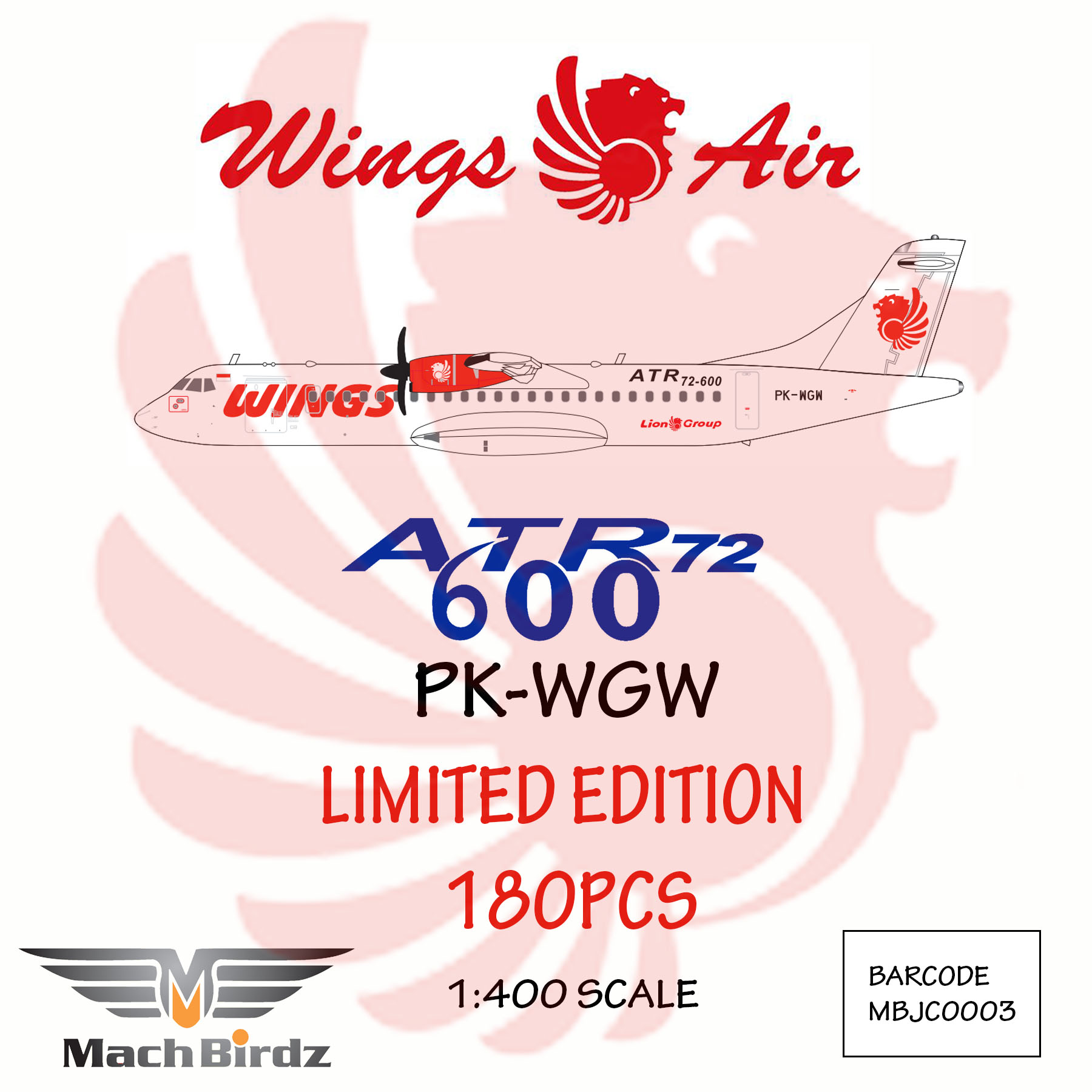 Wings Air ATR-72-600 PK-WGW